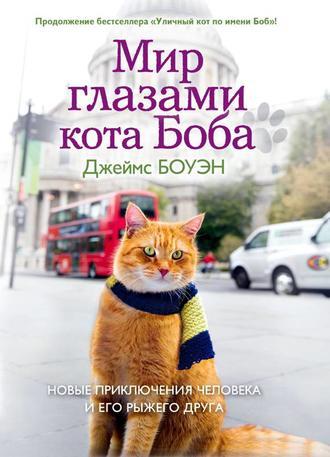 Купить Мир глазами кота Боба. Новые приключения человека и его рыжего друга – Джеймс Боуэн