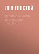Из записок князя Д.Нехлюдова (Люцерн)