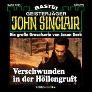 John Sinclair, Band 1721: Verschwunden in der Höllengruft