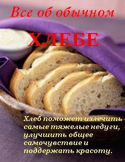 Иван Дубровин Все об обычном хлебе все о напитках