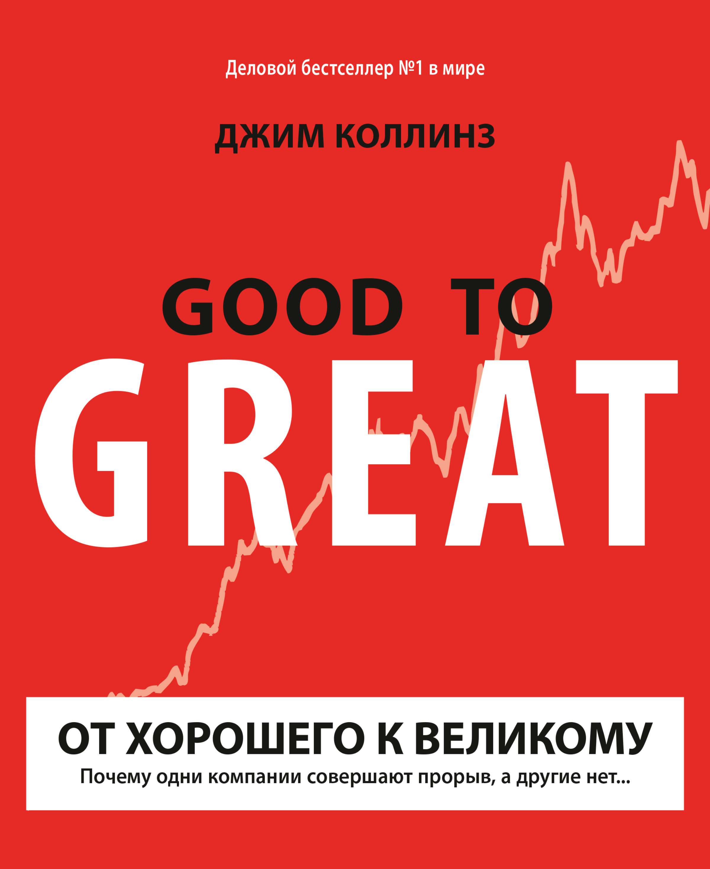 Джим Коллинз От хорошего к великому джим коллинз от хорошего к великому почему одни компании совершают прорыв а другие нет