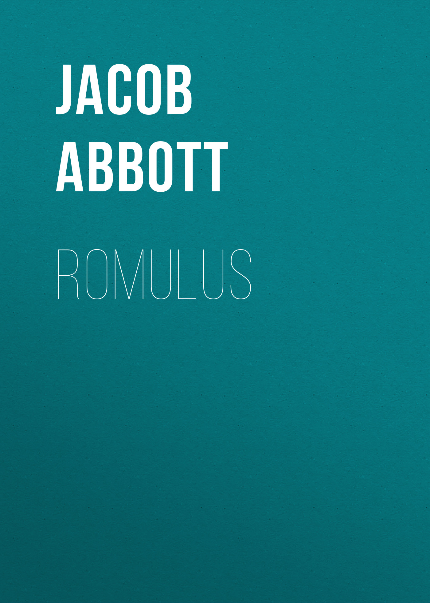 Abbott Jacob Romulus abbott jacob cleopatra