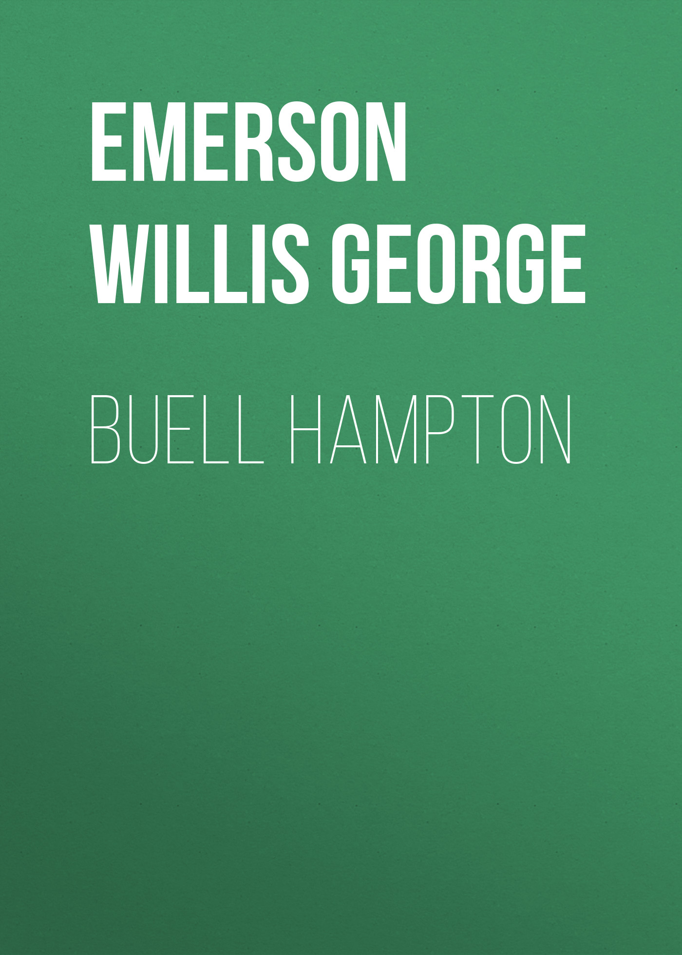 цена Emerson Willis George Buell Hampton