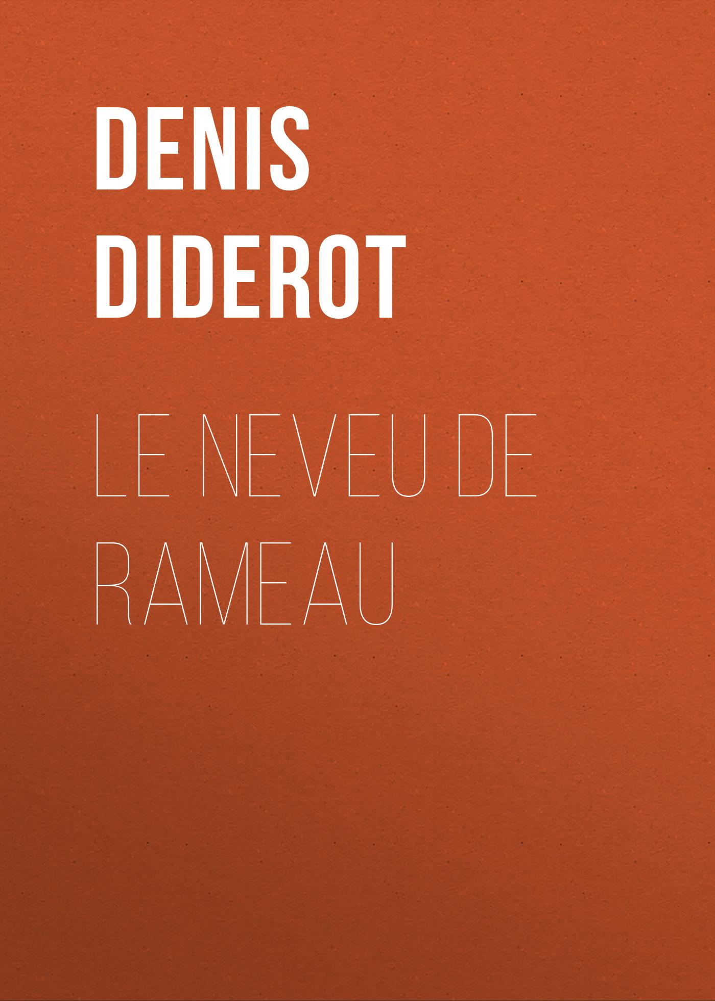 Denis Diderot Le neveu de Rameau цена и фото
