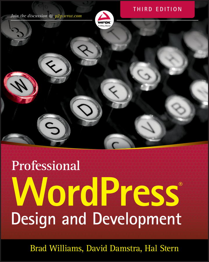 Brad Williams Professional WordPress. Design and Development подарок девочке 8 лет
