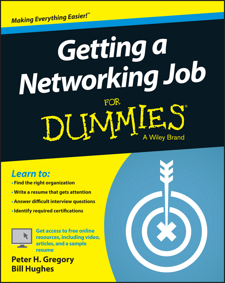 Bill Hughes Getting a Networking Job For Dummies купить в Москве 2019
