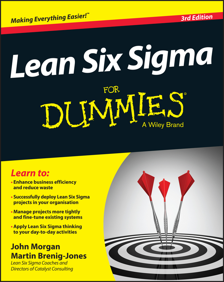 John Morgan Lean Six Sigma For Dummies lean in