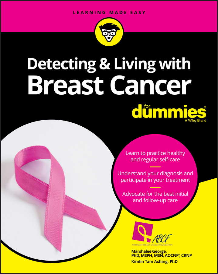 Marshalee George Detecting and Living with Breast Cancer For Dummies portable medical mammary examination instrument amedical infrared breast diagnosticbreast cancer exam medical laser phototherapy