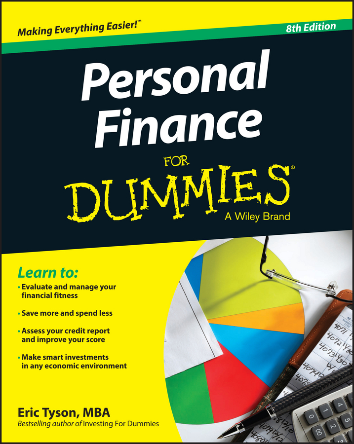 Eric Tyson Personal Finance For Dummies to your taste auto accessories черный деловая одежда