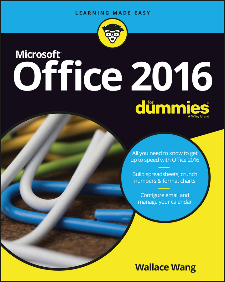 Wallace Wang Office 2016 For Dummies ryan j nerve page 3