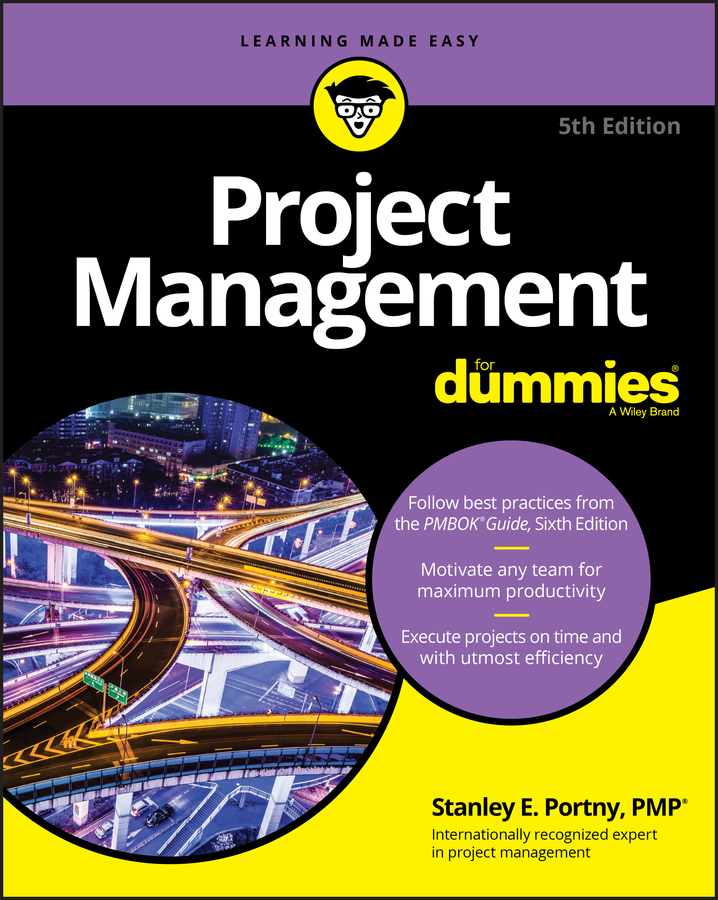 Stanley Portny E. Project Management For Dummies project management for dummies whs travel edition
