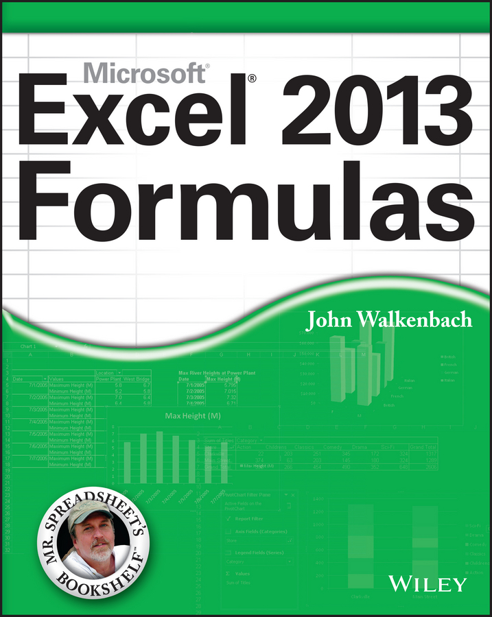 John Walkenbach Excel 2013 Formulas john walkenbach excel vba programming for dummies