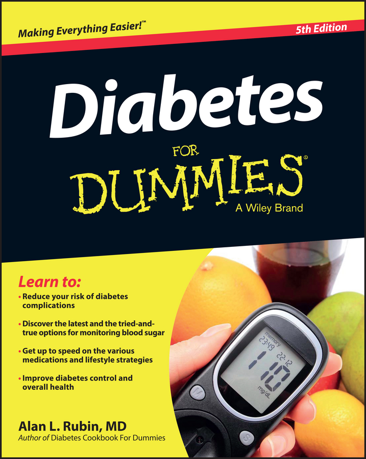 Alan L. Rubin Diabetes For Dummies 1pcs serial ata sata 4 pin ide to 2 of 15 hdd power adapter cable hot worldwide
