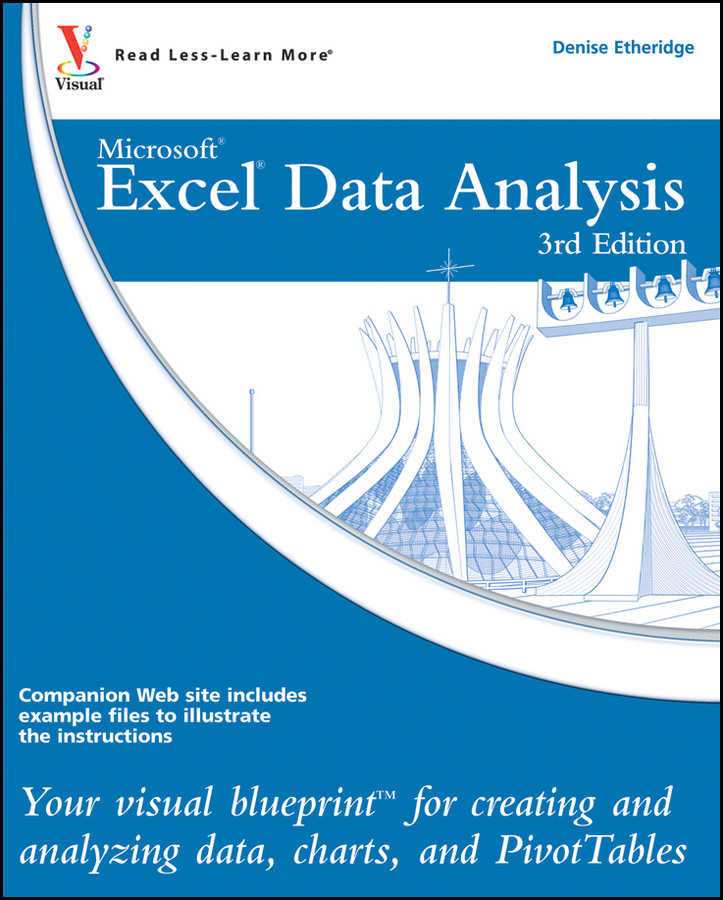 Denise Etheridge Excel Data Analysis. Your visual blueprint for creating and analyzing data, charts and PivotTables michael sherman spatial statistics and spatio temporal data covariance functions and directional properties isbn 9780470974407
