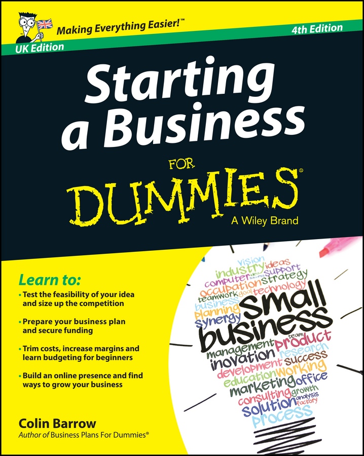 Colin Barrow Starting a Business For Dummies - UK kip hanson machining for dummies