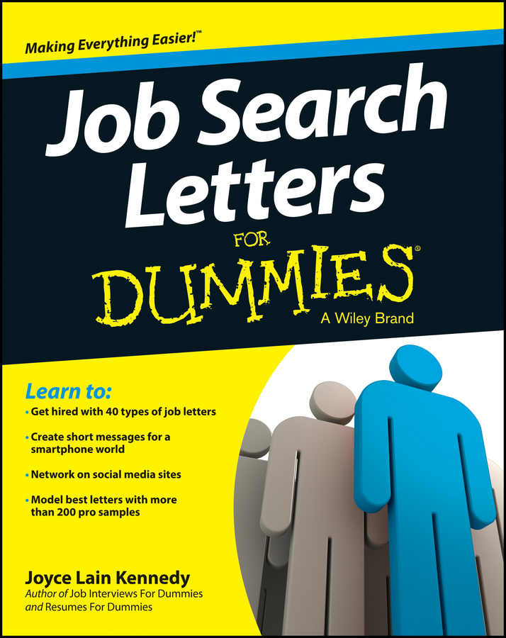 Joyce Lain Kennedy Job Search Letters For Dummies david rose getting a social media job for dummies isbn 9781119002710