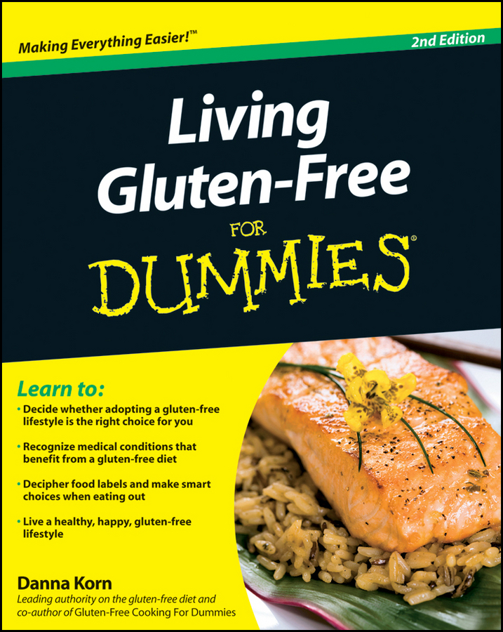 Danna Korn Living Gluten-Free For Dummies danna korn living gluten free for dummies