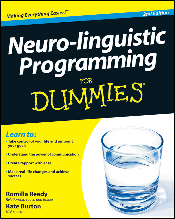 Kate Burton Neuro-linguistic Programming For Dummies
