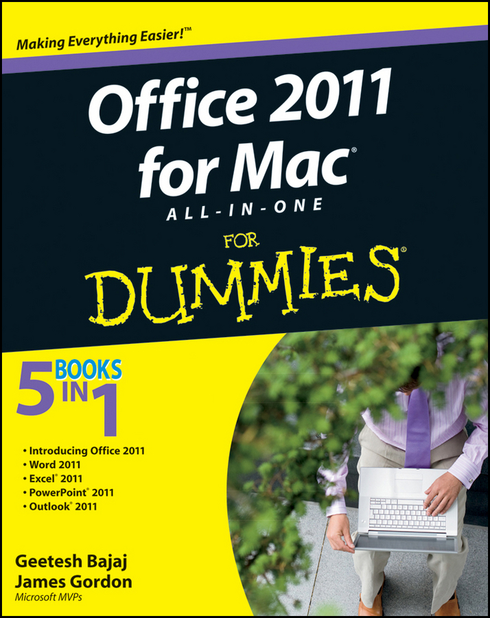 Geetesh Bajaj Office 2011 for Mac All-in-One For Dummies woody leonhard windows 10 all in one for dummies