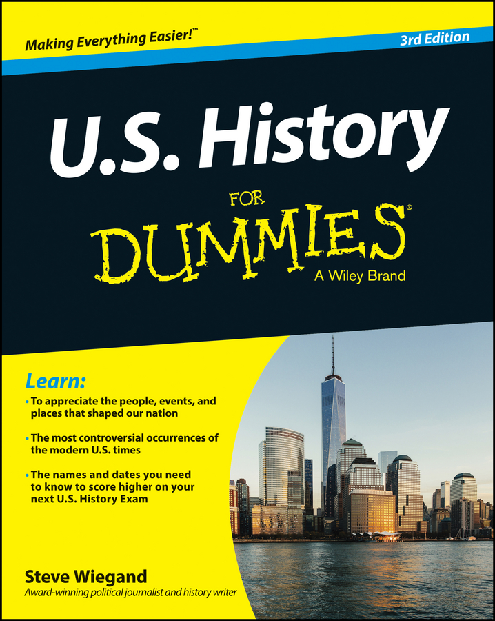 Steve Wiegand U.S. History For Dummies mike cronin irish history for dummies