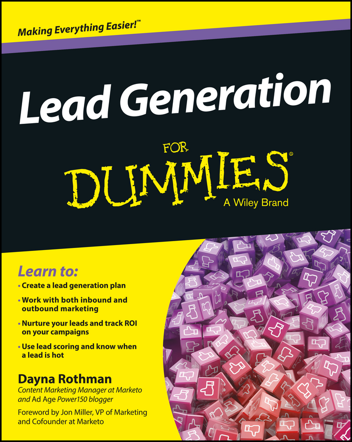 Dayna Rothman Lead Generation For Dummies the will to lead