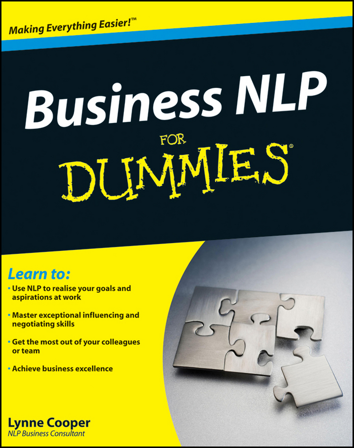 Lynne Cooper Business NLP For Dummies kate burton building rapport with nlp in a day for dummies