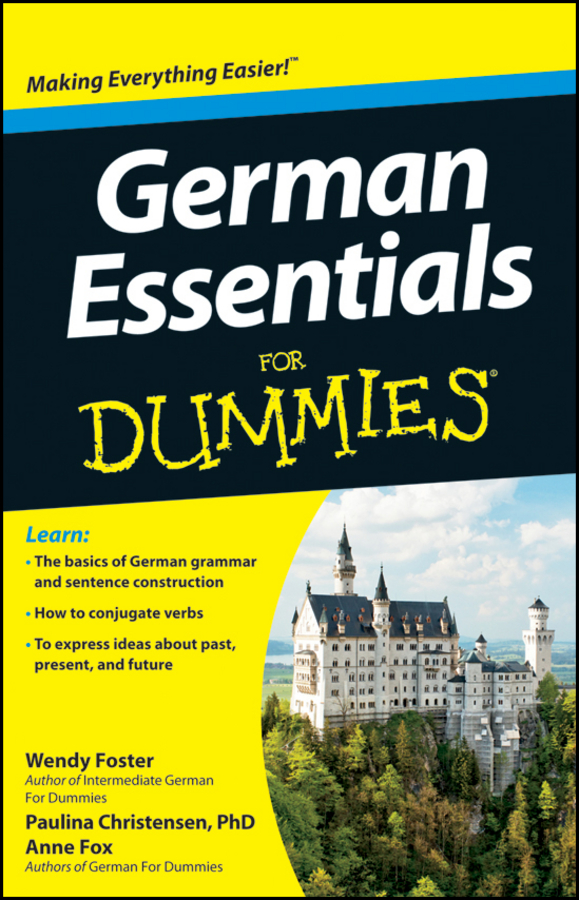 Anne Fox German Essentials For Dummies gail stein spanish essentials for dummies