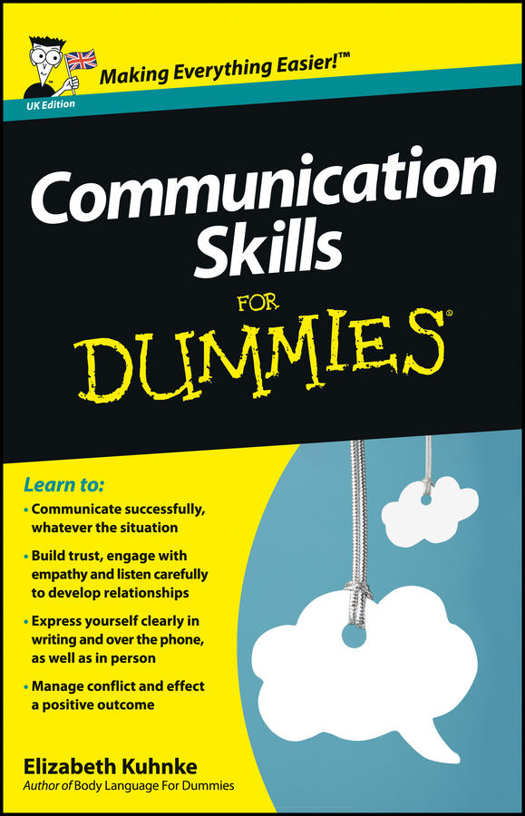 Elizabeth Kuhnke Communication Skills For Dummies кольцо коюз топаз кольцо т102017974 лл