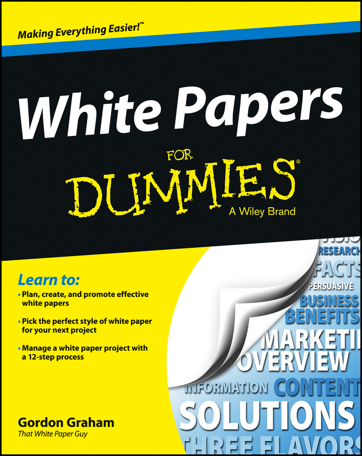Gordon Graham White Papers For Dummies lothar muller white magic the age of paper