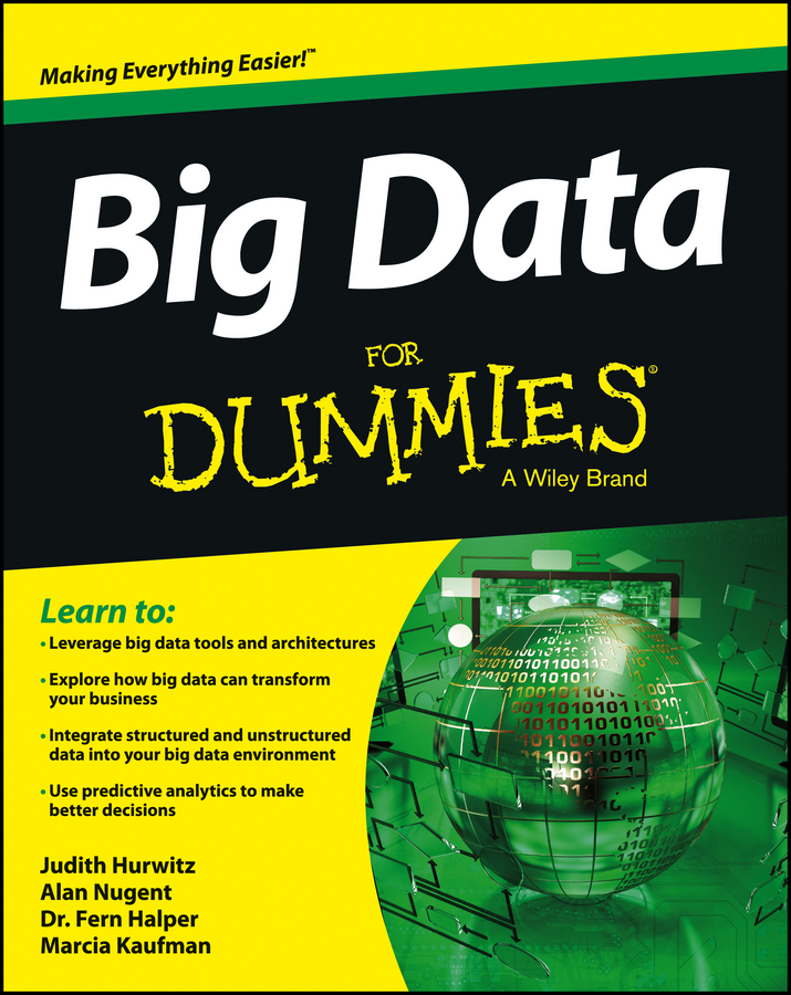 Marcia Kaufman Big Data For Dummies alan anderson statistics for big data for dummies