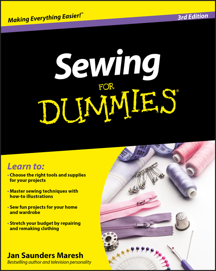 Фото - Jan Maresh Saunders Sewing For Dummies powell d common mistakes at cae… and how to avoid them