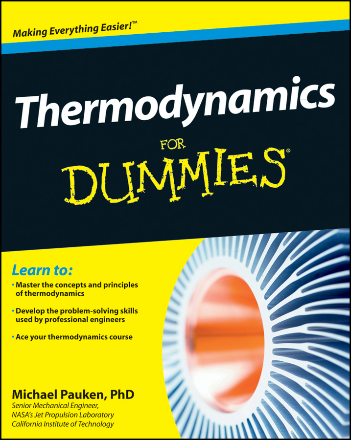 Mike Pauken Thermodynamics For Dummies laws of the land