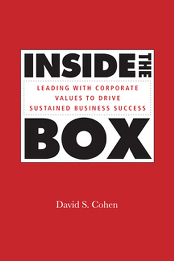 David Cohen S. Inside the Box. Leading With Corporate Values to Drive Sustained Business Success iaroslava blyshchuk exploring family business culture and values as a competitive advantage