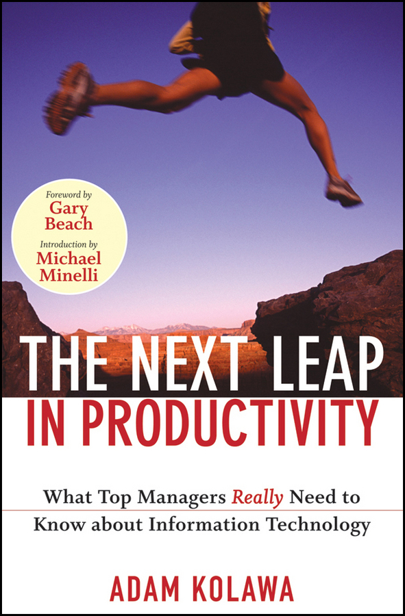 Adam Kolawa The Next Leap in Productivity. What Top Managers Really Need to Know about Information Technology productivity of rice