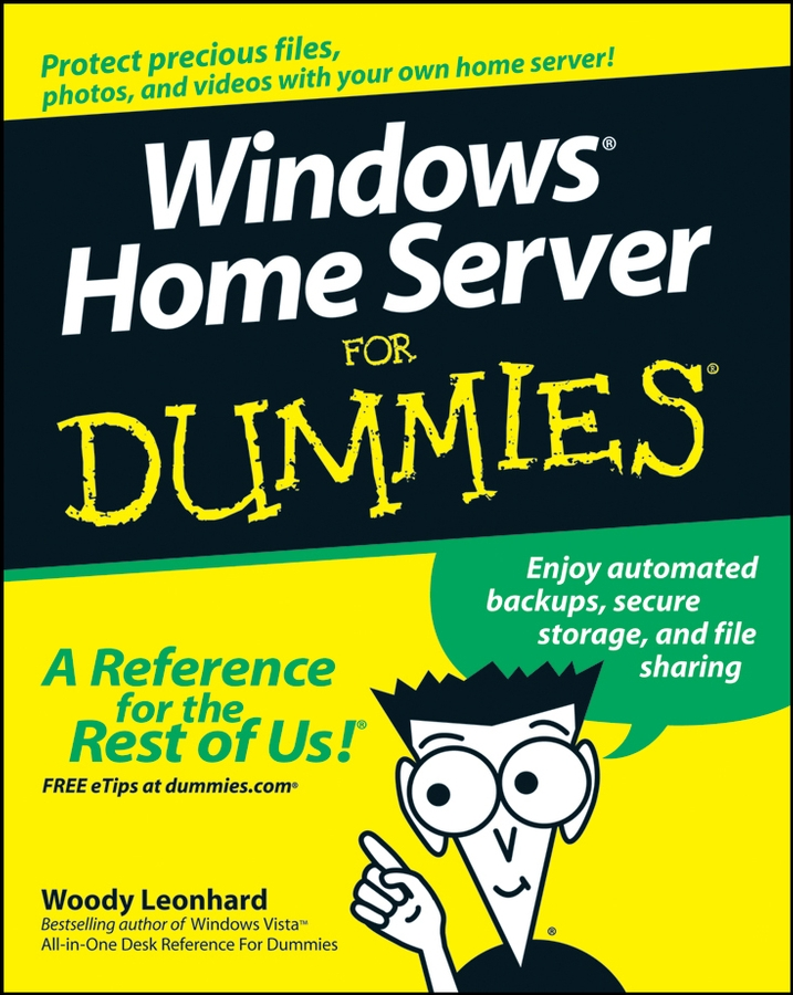 Woody Leonhard Windows Home Server For Dummies
