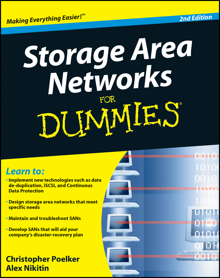 Christopher Poelker Storage Area Networks For Dummies peter gregory h it disaster recovery planning for dummies