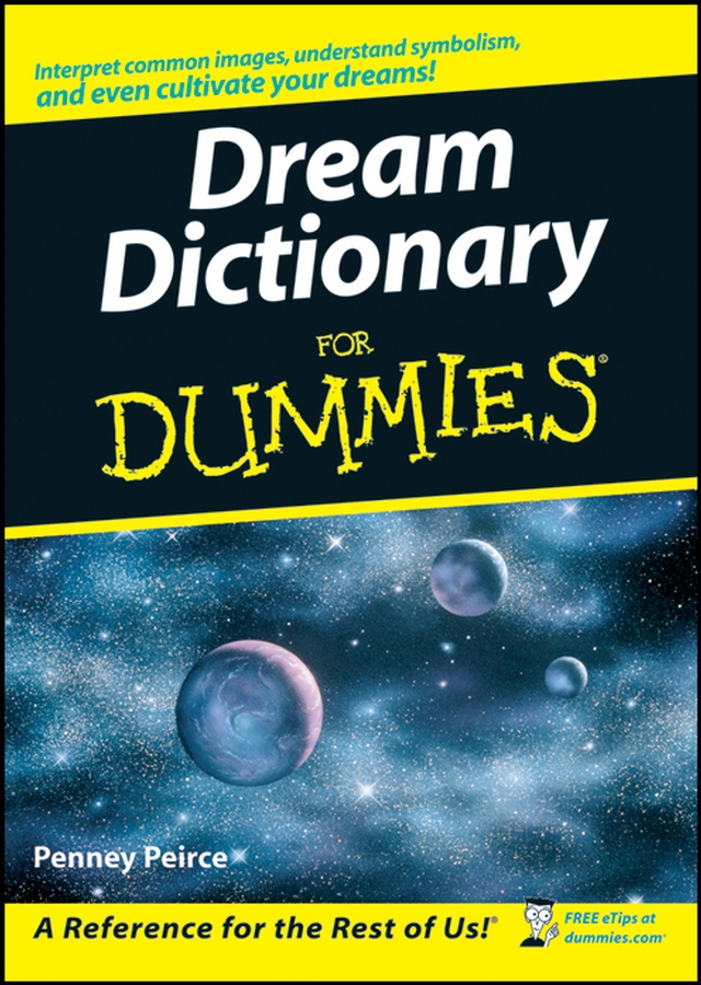 Penney Peirce Dream Dictionary For Dummies printio road to the dream