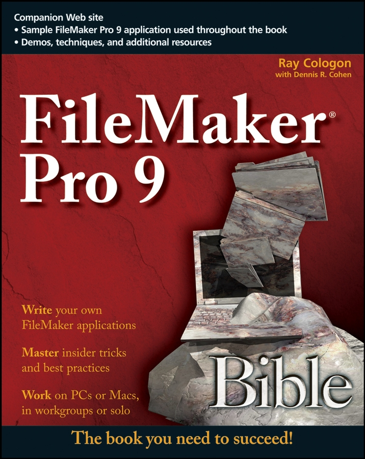 Ray Cologon FileMaker Pro 9 Bible цена