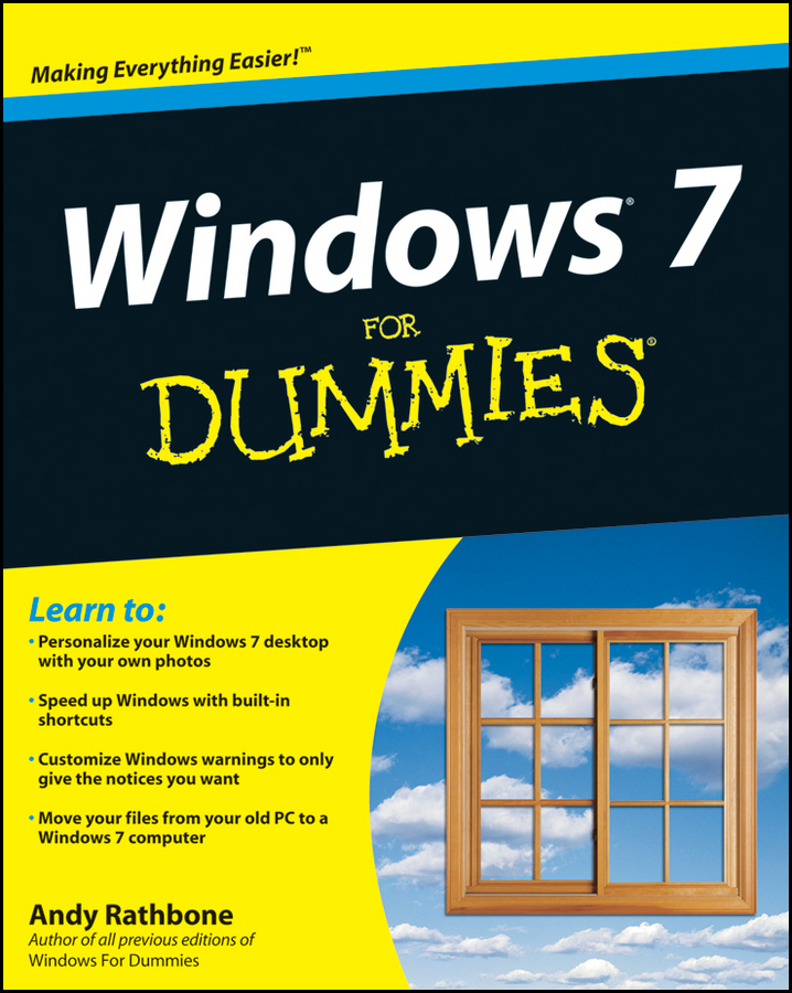 Andy Rathbone Windows 7 For Dummies andy rathbone windows 10 for dummies