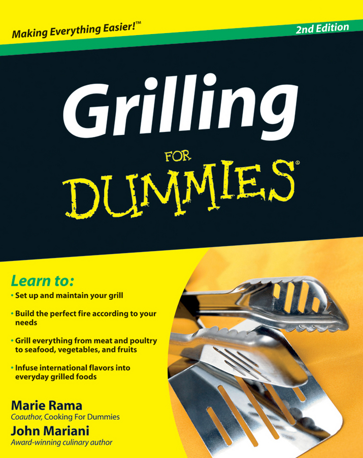 John Mariani Grilling For Dummies kip hanson machining for dummies