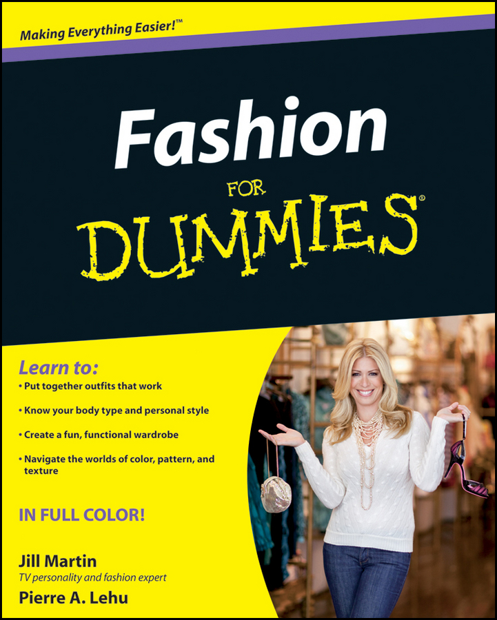 Jill Martin Fashion For Dummies martin signore fantasy football for dummies