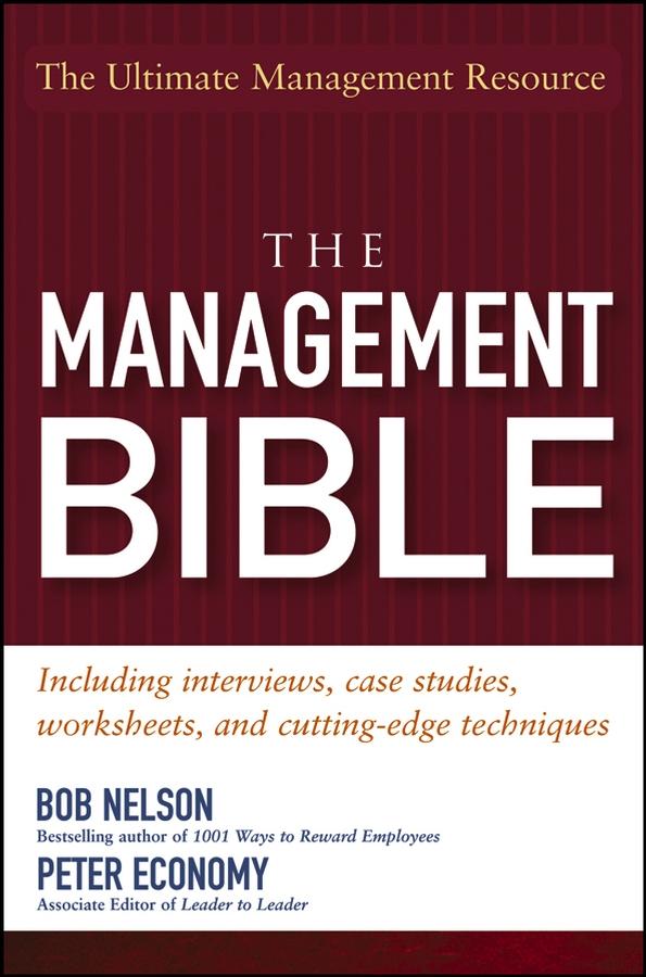Peter Economy The Management Bible цена и фото