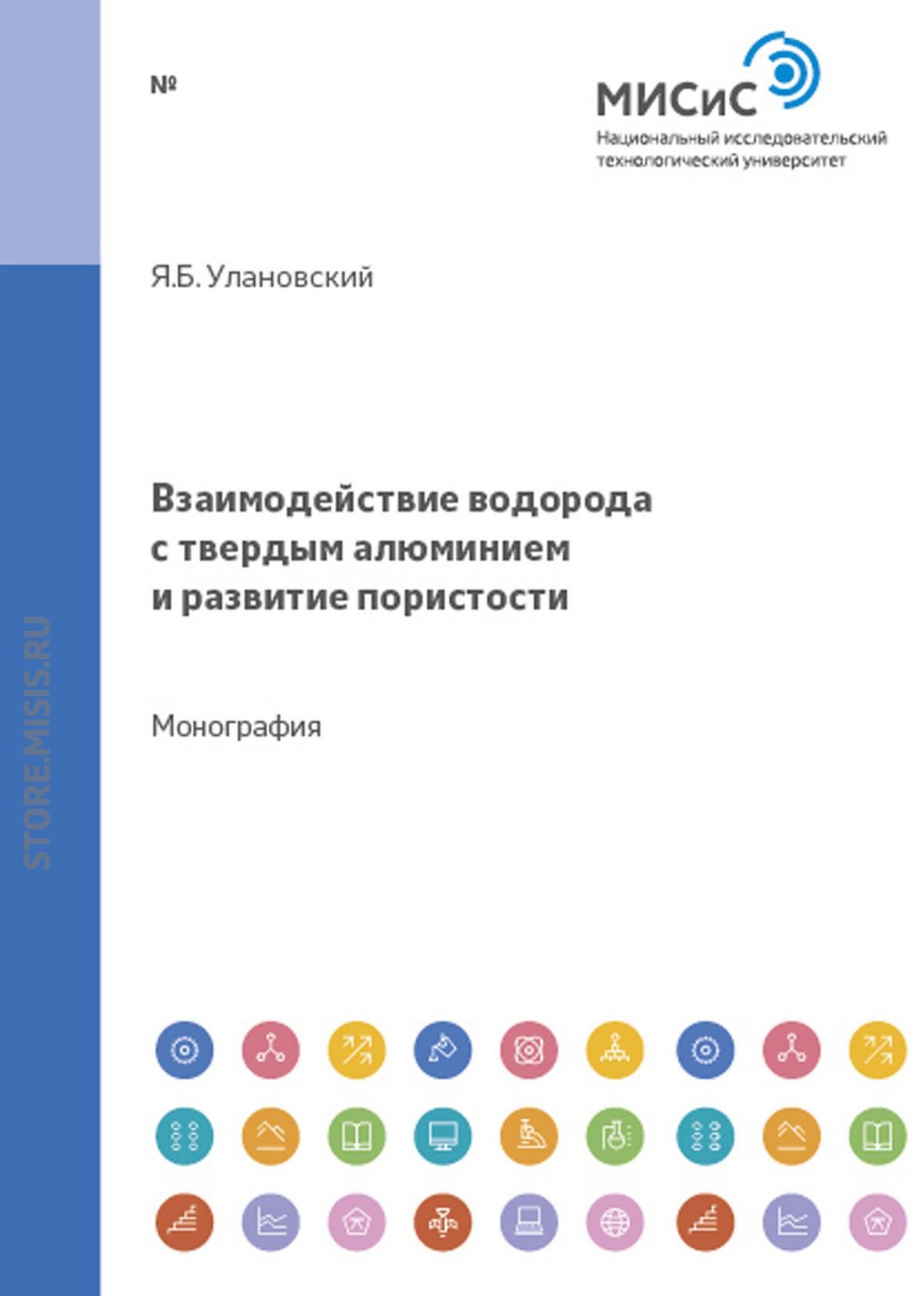 Яков Улановский Взаимодействие водорода с твердым алюминием и развитие пористости