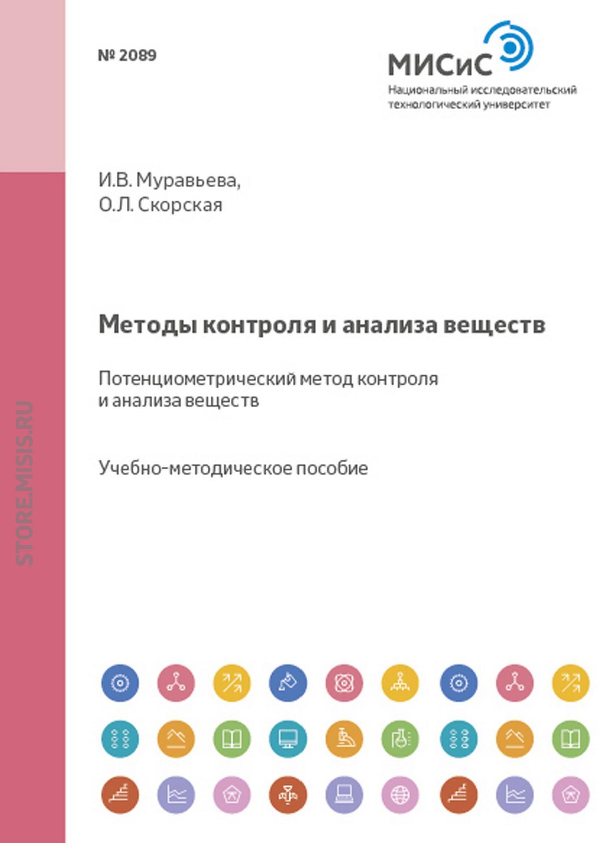Ольга Скорская Методы контроля и анализа веществ. Потенциометрический метод контроля и анализа веществ