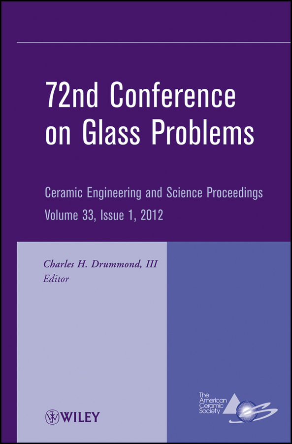 Charles H. Drummond, III 72nd Conference on Glass Problems. A Collection of Papers Presented at the 72nd Conference on Glass Problems, The Ohio State University, Columbus, Ohio, October 18-19, 2011 220v 10x large clip on magnifying glass lamp magnifier with green optical glass folding stand for pcb precision parts inspection