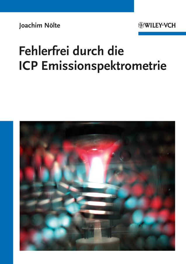 лучшая цена Joachim Nölte Fehlerfrei durch die ICP Emissionsspektrometrie