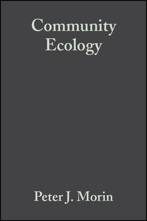 Peter Morin J. Community Ecology цена