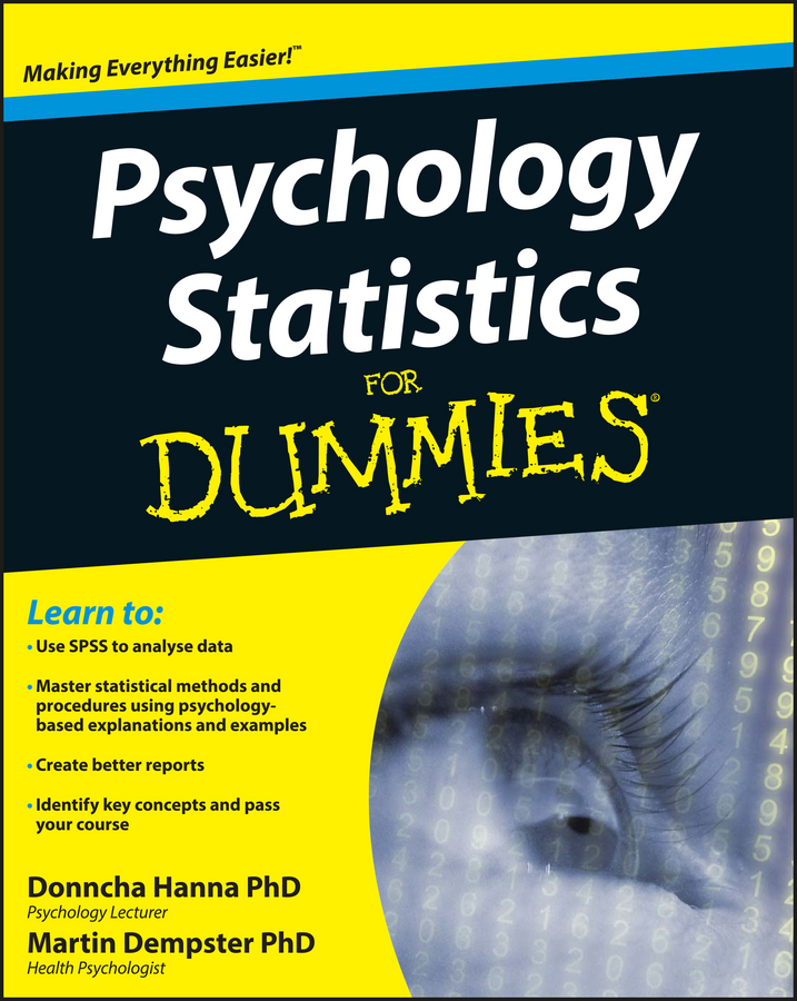 Dempster Martin Psychology Statistics For Dummies david unger u can statistics for dummies