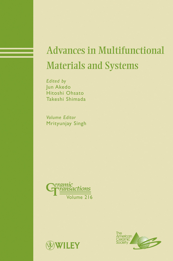 Mrityunjay Singh Advances in Multifunctional Materials and Systems rick ubic microwave materials and applications