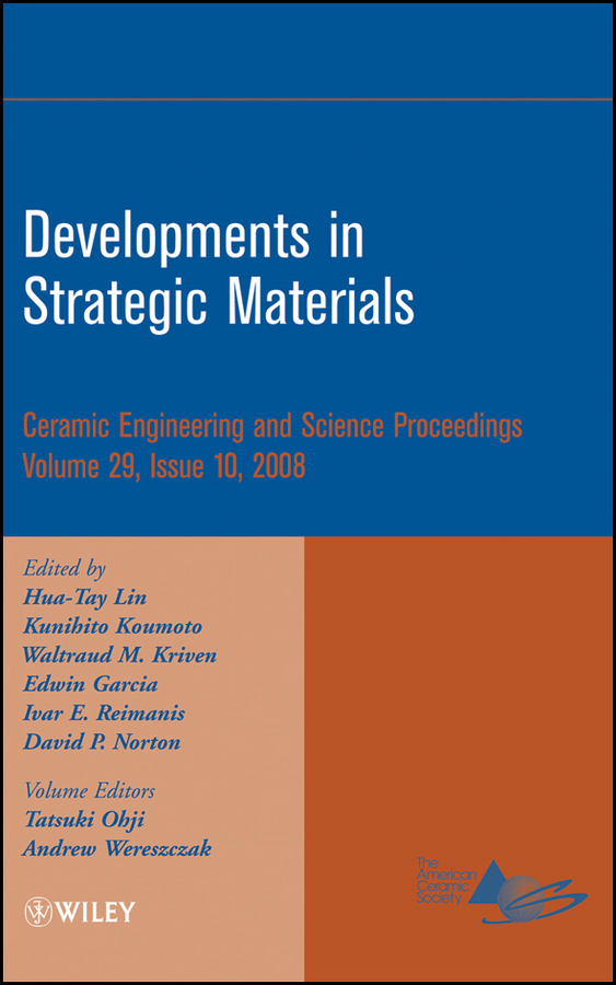 Kunihito Koumoto Developments in Strategic Materials dileep singh developments in strategic materials and computational design ii